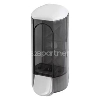 Dozownik środków dezynfekujących i mydła w płynie 0,8 l, dymny, plastik
