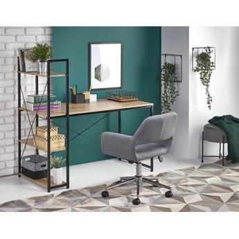 Industrialne biurko z regałem, toaletka loft 120x64
