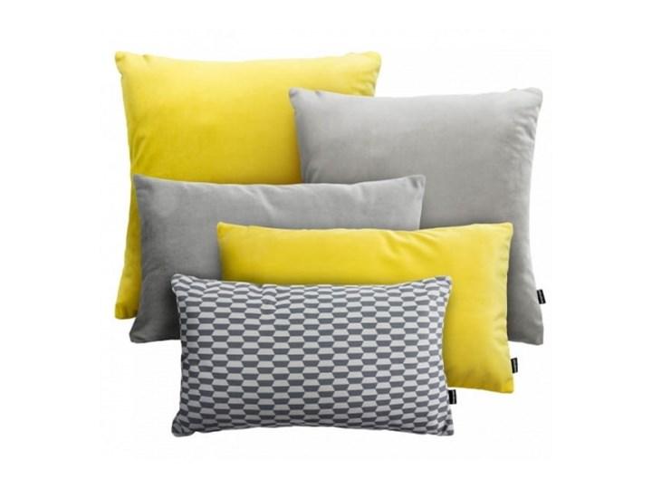 VELVET+BREAK szaro-żółty zestaw poduszek dekoracyjnych