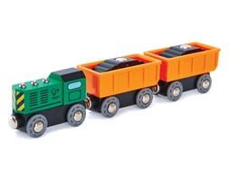Hape pociąg towarowy z wagonami