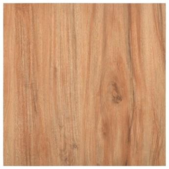 VidaXL Samoprzylepne panele podłogowe, 5,11 m², PVC, jasne drewno
