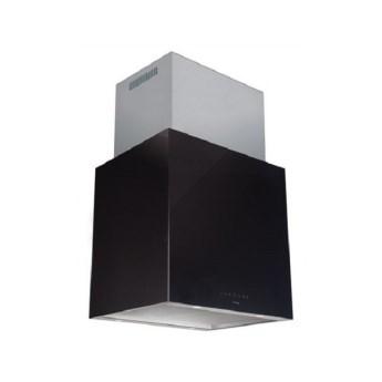Okap wyspowy NODOR Isla Cube Glass Black 600