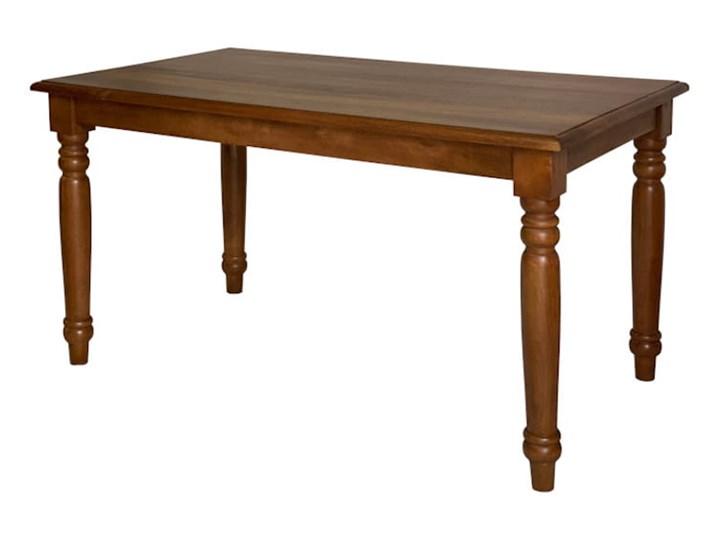 Stół FLOTT - 180x90 cm (Bursztyn) Długość 180 cm  Szerokość 80 cm Długość 140 cm  Drewno Kamień Długość 160 cm  Kolor Szary
