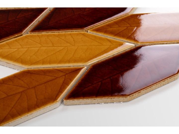 Płytka Autumn Leaves Połysk Mozaika Płytki podłogowe Heksagon Kategoria Płytki Gres Płytki ścienne Powierzchnia Polerowana