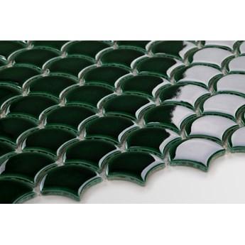 Płytka Flabellum Małe Emerald Połysk