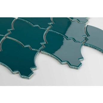 Płytka Arabeska Shield Ocean Granate Szkliwiona