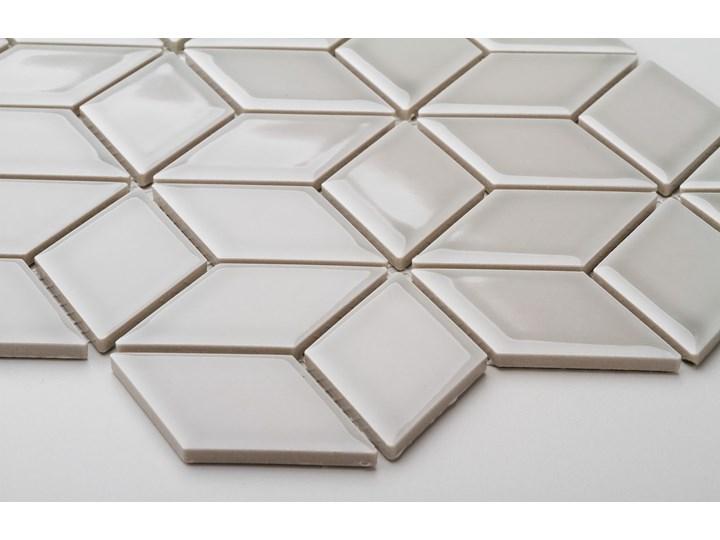 Płytka Diamond Grey Star Szkliwiony Mozaika Gres Płytki ścienne Płytki podłogowe Romb Kolor Szary