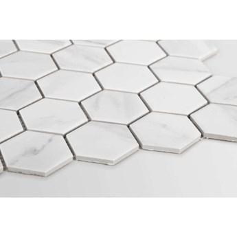 Płytka Heksagon Duży Marble Matowy