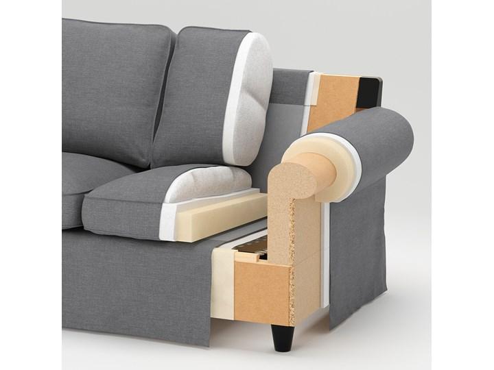 IKEA EKTORP Sofa narożna 4-osobowa, Virestad czerwony/biały, Minimalna szerokość: 243 cm Prawostronne Lewostronne Liczba miejsc Czteroosobowy Kategoria Narożniki