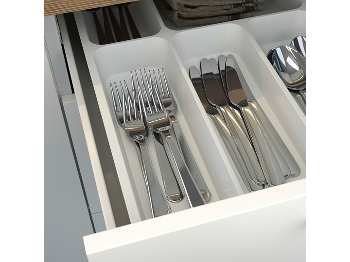 IKEA ENHET Szafka stojąca/3 szuflady, biały, 60x60x75 cm Płyta MDF Szafka dolna Kategoria Szafki kuchenne