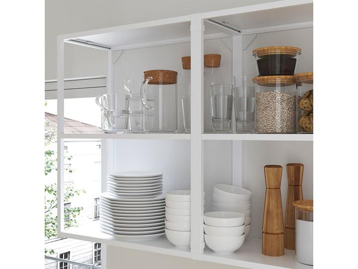 ENHET Kuchnia narożna Zestawy gotowe Kolor Biały Kategoria Zestawy mebli kuchennych