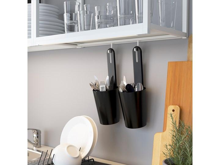 ENHET Kuchnia narożna Kolor Biały Zestawy gotowe Kategoria Zestawy mebli kuchennych