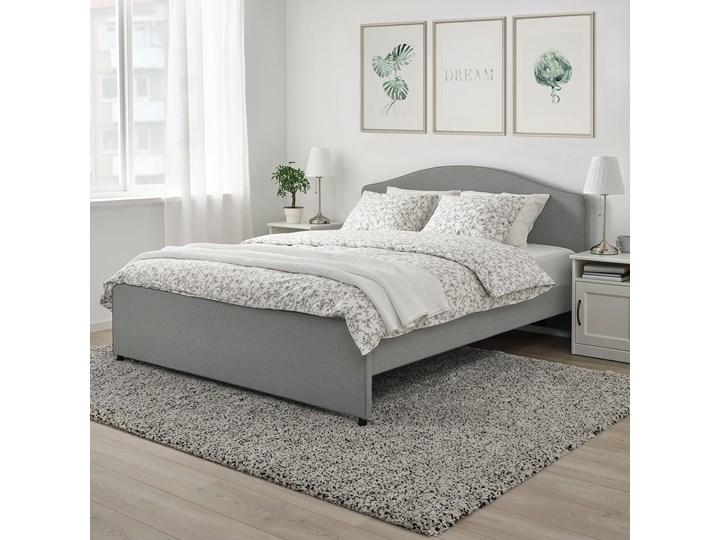 HAUGA Tapicerowana rama łóżka Łóżko tapicerowane Kategoria Łóżka do sypialni
