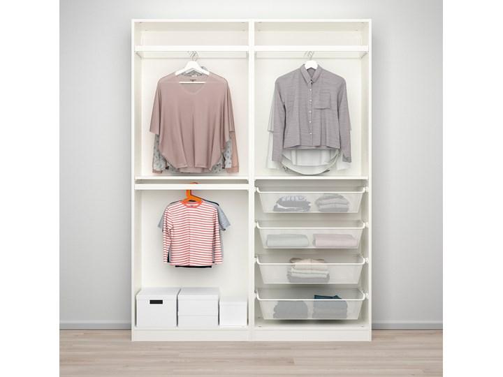 PAX / HASVIK Kombinacja szafy Typ Modułowa Szerokość 150 cm Głębokość 44 cm Wysokość 201,2 cm Kolor Biały