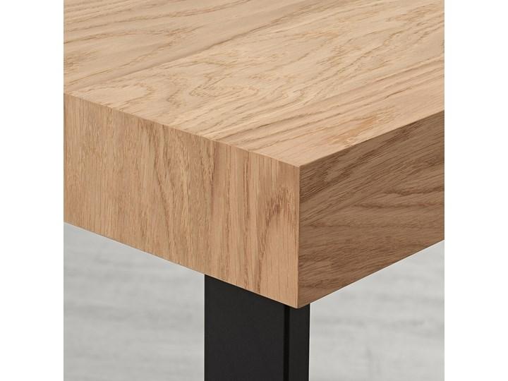 TARSELE Stół rozkładany Długość 200 cm  Metal Długość 150 cm  Szerokość 80 cm Wysokość 77 cm Drewno Styl Industrialny Rozkładanie