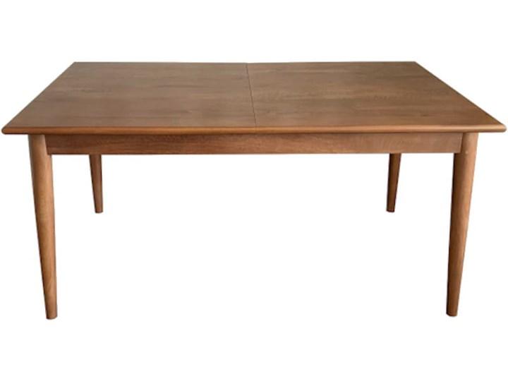 Stół rozkładany MARIAN - 120x80 cm (Karmel) Pomieszczenie Stoły do salonu Drewno Długość 120 cm  Kamień Styl Vintage
