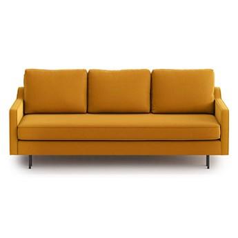 Sofa Abbe z funkcją spania, Golden Velvet