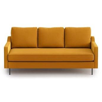 Sofa Abbe 3-osobowa, Golden Velvet
