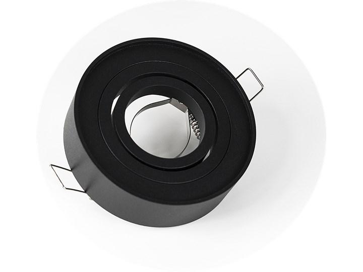 Punktowa oprawa sufitowa wpuszczana SKAND 1 MINI Black IP20 okrągła czarna EDO777127 EDO Oprawa wpuszczana Okrągłe Oprawa stropowa Kolor Czarny