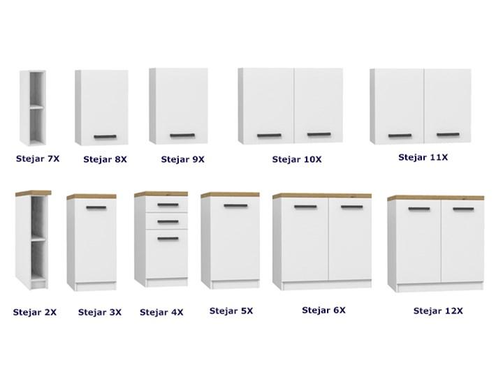 Szafka do kuchni ścienna Stejar 7X - biały mat Drewno Płyta MDF Szafka wisząca Kategoria Szafki kuchenne