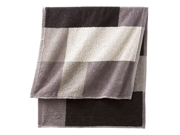 Ręczniki z nadrukiem w kolorowe kwadraty   bonprix