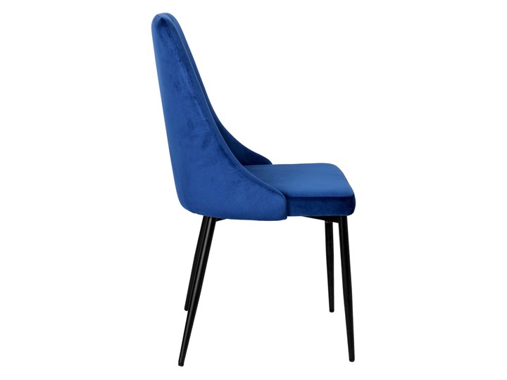Krzesło tapicerowane Lincoln Velvet granatowy Szerokość 38 cm Wysokość 43 cm Metal Welur Wysokość 47 cm Pomieszczenie Salon Głębokość 45 cm Skóra Wysokość 38 cm Tworzywo sztuczne Wysokość 92 cm Krzesło inspirowane Tkanina Styl Glamour