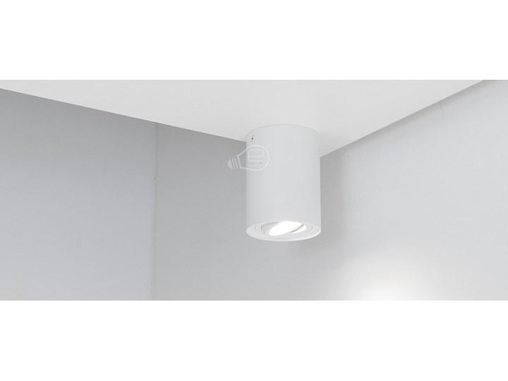 Punktowa oprawa sufitowa natynkowa do LED SKAND 1 White GU10 IP20 okrągła biała EDO777101 EDO Oprawa stropowa Okrągłe Oprawa led Kolor Biały