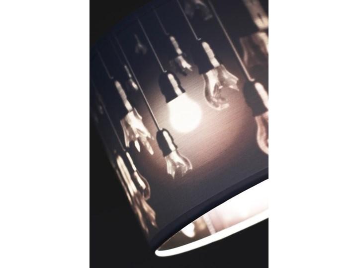 Zmieniająca kolor lampa wisząca nad stół E914-Izydo Metal Tworzywo sztuczne Lampa z abażurem Styl Nowoczesny
