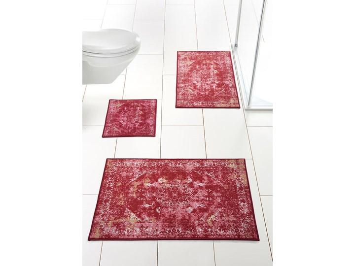 Dywaniki łazienkowe z nadrukiem w stylu vintage | bonprix 80x150 cm 45x50 cm 50x90 cm 70x110 cm 60x100 cm Kolor Różowy