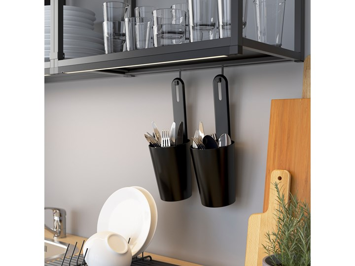 ENHET Kuchnia narożna Kategoria Zestawy mebli kuchennych Kolor Biały