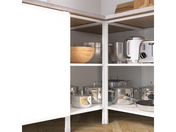 ENHET Kuchnia narożna Zestawy gotowe Kolor Biały