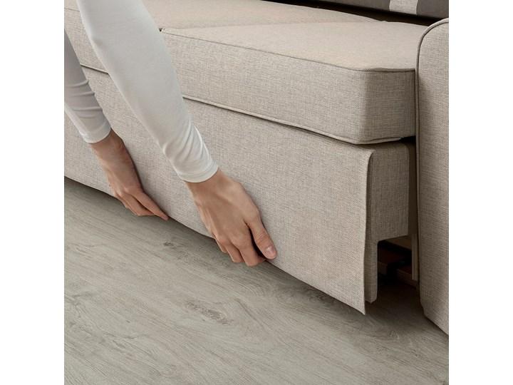 IKEA EVERTSBERG Sofa 2-osobowa rozkładana, z pojemnikiem beżowy, Wysokość łóżka: 29 cm Stała konstrukcja Styl Klasyczny Typ Gładkie