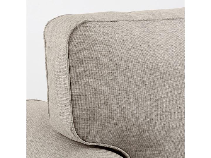 IKEA EVERTSBERG Sofa 2-osobowa rozkładana, z pojemnikiem beżowy, Wysokość łóżka: 29 cm Stała konstrukcja Nóżki Bez nóżek Typ Gładkie