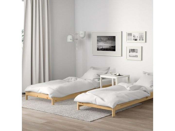 IKEA UTÅKER Łóżko sztaplowane, sosna, 80x200 cm Drewno Podwójne Kategoria Łóżka dla dzieci