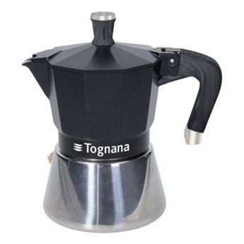 Kawiarka TOGNANA SPHERA 6 TZ Srebrno-czarny