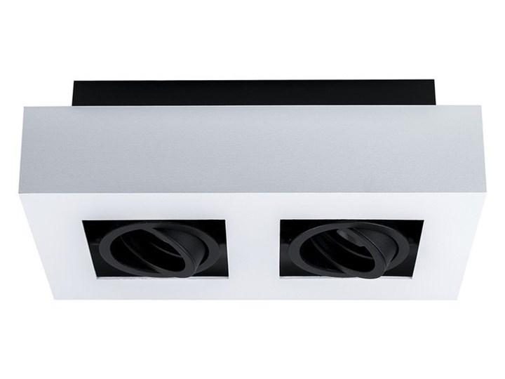 Lampa sufitowa natynkowa OSMIN 2 White IP20 kwadratowa podwójna biało - czarna mat EDO777145 EDO Kwadratowe Oprawa stropowa Kolor Biały Prostokątne Kolor Czarny