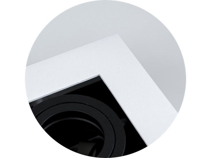Lampa sufitowa natynkowa OSMIN 2 White IP20 kwadratowa podwójna biało - czarna mat EDO777145 EDO Kolor Biały Kwadratowe Prostokątne Oprawa stropowa Kolor Czarny
