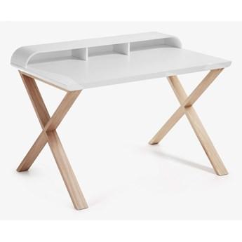 La Forma - White and Ash Desk - Biały