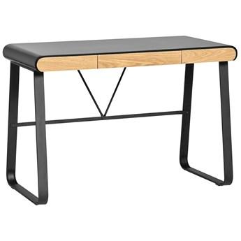 Marckeric Astrid - Czarny - Designerskie biurko do domu i Home Office