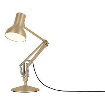 Anglepoise - Type 75™ Mini Metallic Desk Lamp - Złoty Metalik - Kultowa Lampa Biurkowa