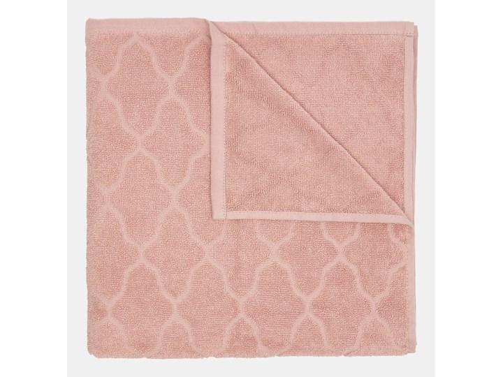Sinsay - Bawełniany ręcznik 70x140 - Różowy Łazienkowe Bawełna 70x140 cm Kategoria Ręczniki
