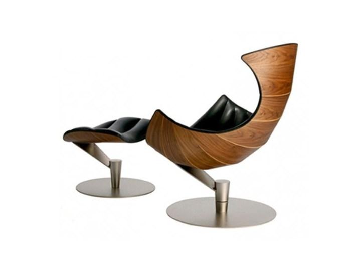Fotel z podnóżkiem Sydney