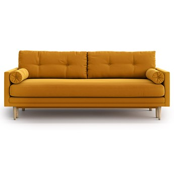 Sofa Amy z funkcją spania, Golden Velvet
