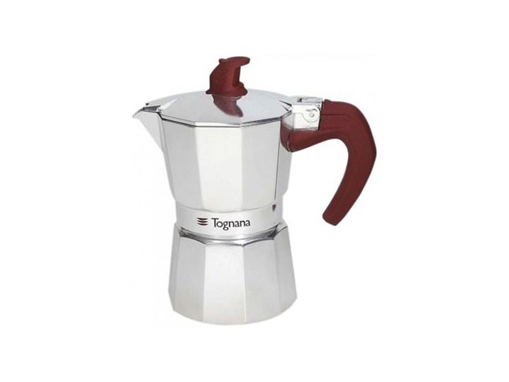 Kawiarka TOGNANA Extra Style 12 TZ Srebrny Kolor Brązowy Aluminium Kategoria Kawiarki i kafetery