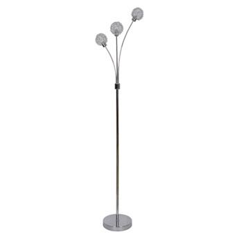 Lampa podłogowa GoodHome Phaidros 3-punktowa G9 chrom
