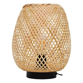 Lampa stołowa GoodHome Kasungu 1-punktowa E27 natural / biała
