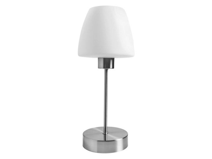 Lampa stołowa GoodHome Kluan E14 chrom szczotkowany Lampa z kloszem Wysokość 30 cm Wysokość 37 cm Kategoria Lampy stołowe