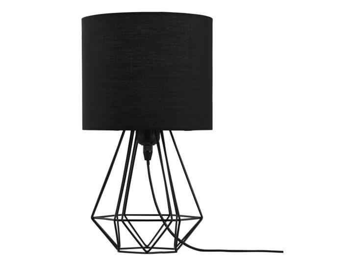 Lampa stołowa GoodHome Smertrio 1-punktowa E27 czarna