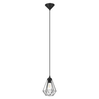 Lampa wisząca GoodHome Smertrio 1-punktowa E27 17,5 cm czarna