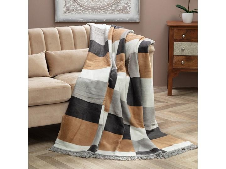 Koc Cotton Cloud 150x200 Retro Mix, 150 x 200 cm 150x200 cm Akryl Pomieszczenie Pokój nastolatka Bawełna Kolor Szary